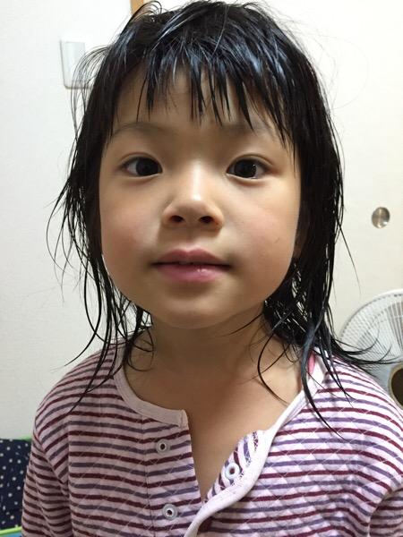 4歳の娘をクリームズクリームでシャンプーしてみた