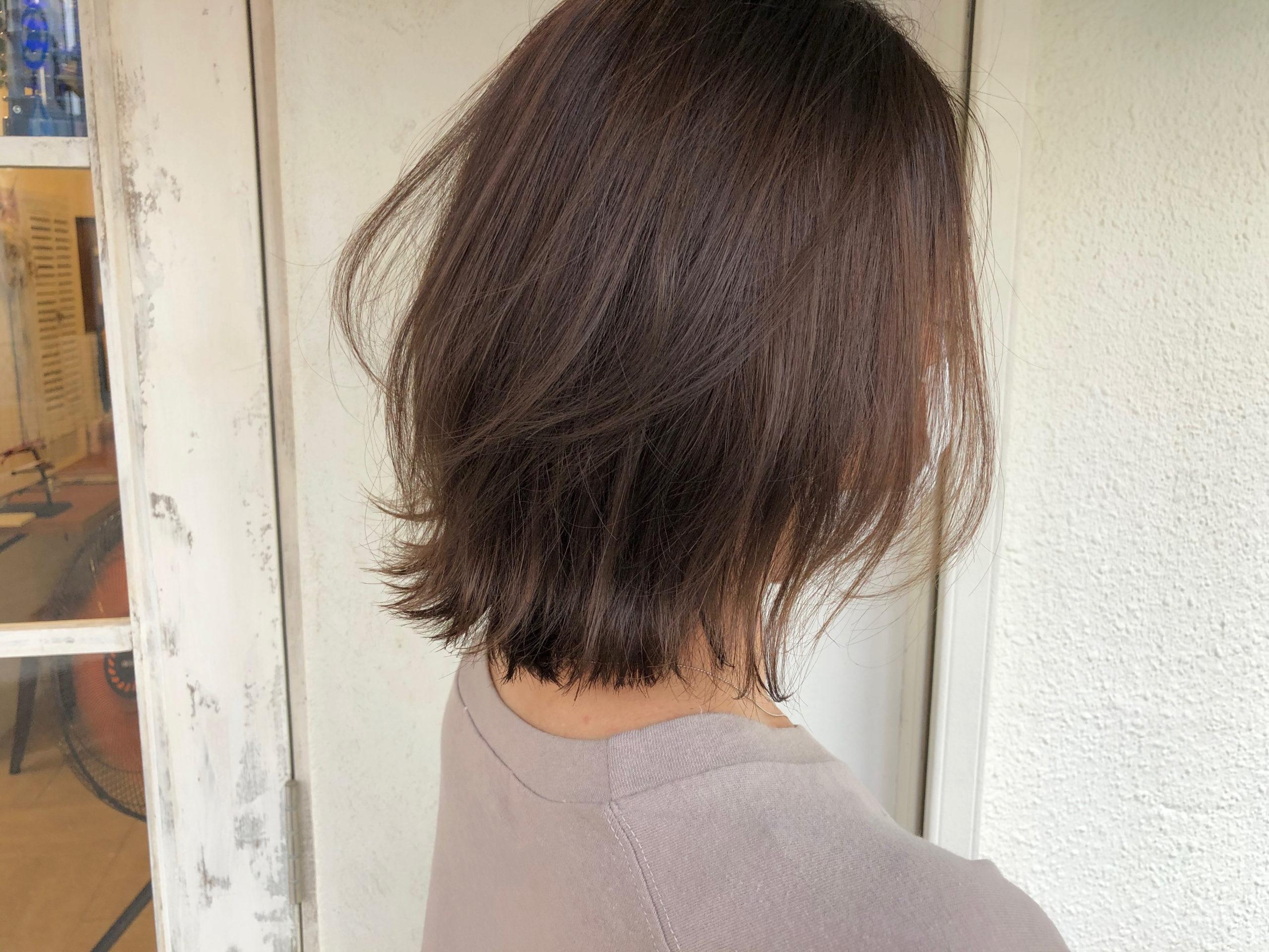 白髪染め 白髪ぼかしハイライト 明るい白髪染め 黒田式ハイライト