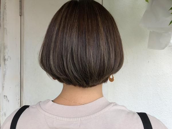 白髪ぼかしハイライト 6枚ホイル 黒田式ハイライト 明るい白髪染